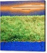 Two Driveways 2 Sat 2 Pd 2 Canvas Print