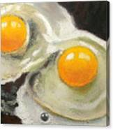 Two Eggs  Canvas Print
