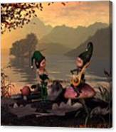 Two Elves Canvas Print