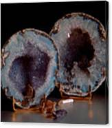 Two Geodes Canvas Print