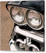 Two Headlights Canvas Print