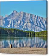 Two Jack Lake Canvas Print