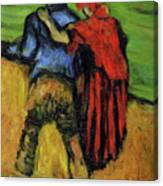 Two Lovers  Canvas Print