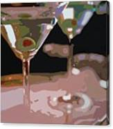 Two Martini Lunch Canvas Print