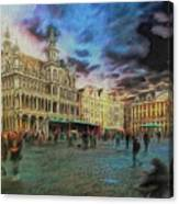 Two Nights In Brussels #21 Season's End Canvas Print