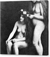 Two Nudes, 1913 Canvas Print