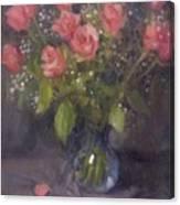 Two Petals Canvas Print