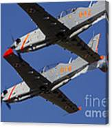 Two Pzl-130 Orlik Trainers Canvas Print