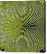 Two Saguaro Abstract #4496w3 Canvas Print