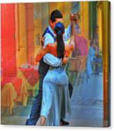 Two Tango Canvas Print