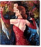 Two To Tango Canvas Print
