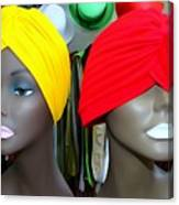 Two Turbans Canvas Print