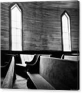 Two Window Church Canvas Print