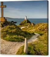 Twr Mawr Lighthouse Canvas Print
