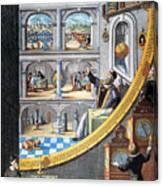 Tycho Brahe (1546-1601) Canvas Print