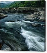 Tygart Valley River Canvas Print