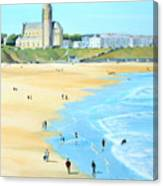 Tynemouth Beach Canvas Print