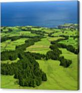 Typical Azores Islands Landscape Canvas Print