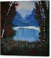 Typical Lake Canvas Print