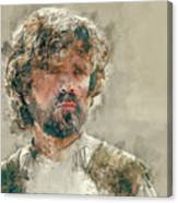 Tyrion Lannister, Game Of Thrones Canvas Print