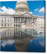 U S Capitol East Front Canvas Print