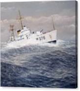 U. S. Coast Guard Cutter Halfmoon Canvas Print