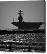 U S S Harry S Truman Cvn75 Canvas Print
