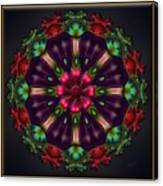 u028 Wholehearted Hibiscus Canvas Print