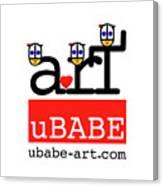 uBABE Art Wave Canvas Print
