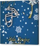 Ucla Bruins Christmas Card Canvas Print