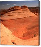 Ufo In Coyote Buttes Canvas Print