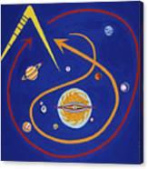 Ufo Universe Canvas Print