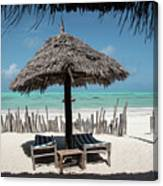 Uhuru Beach Lodge Zanzibar - Notkak Canvas Print