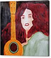 Uke Canvas Print