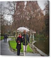 Ula And Wojtek Engagement 12 Canvas Print