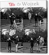 Ula And Wojtek Engagement 3 Canvas Print