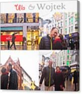 Ula And Wojtek Engagement 5 Canvas Print