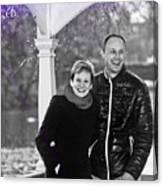 Ula And Wojtek Engagement 6 Canvas Print