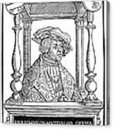 Ulrich Von Hutten, German Poet Canvas Print