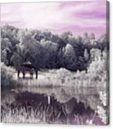 Ultraviolet Gazebo Canvas Print