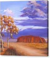 Uluru  - Ayers Rock Canvas Print