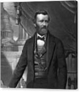 Ulysses S. Grant, 18th American Canvas Print