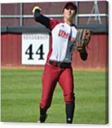 Umass Outfielder 4 Canvas Print