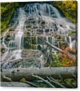 Umbrella Falls Canvas Print