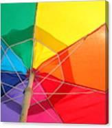 Umbrella In Sunlight Canvas Print