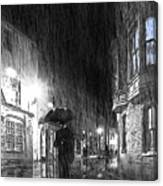 Umbrella Man I Canvas Print