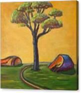 Umbrella Tree Canvas Print