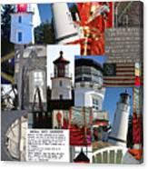 Umpqua River Lighthouse Collection Canvas Print