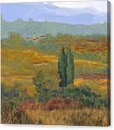 un altro pomeriggio in Toscana Canvas Print