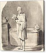 Un Jour De Grande Toilette Canvas Print